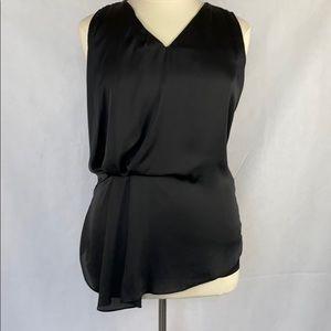 Dolan Sleeveless Black Satin / Tee Shirt